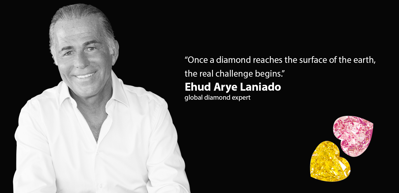 Ehud Arye Laniado - global diamond expert