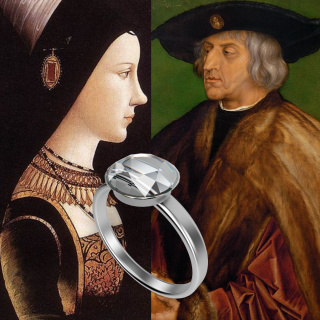 The first Diamond engagement ring? The story of Maximilian I and Mary of Burgundy
