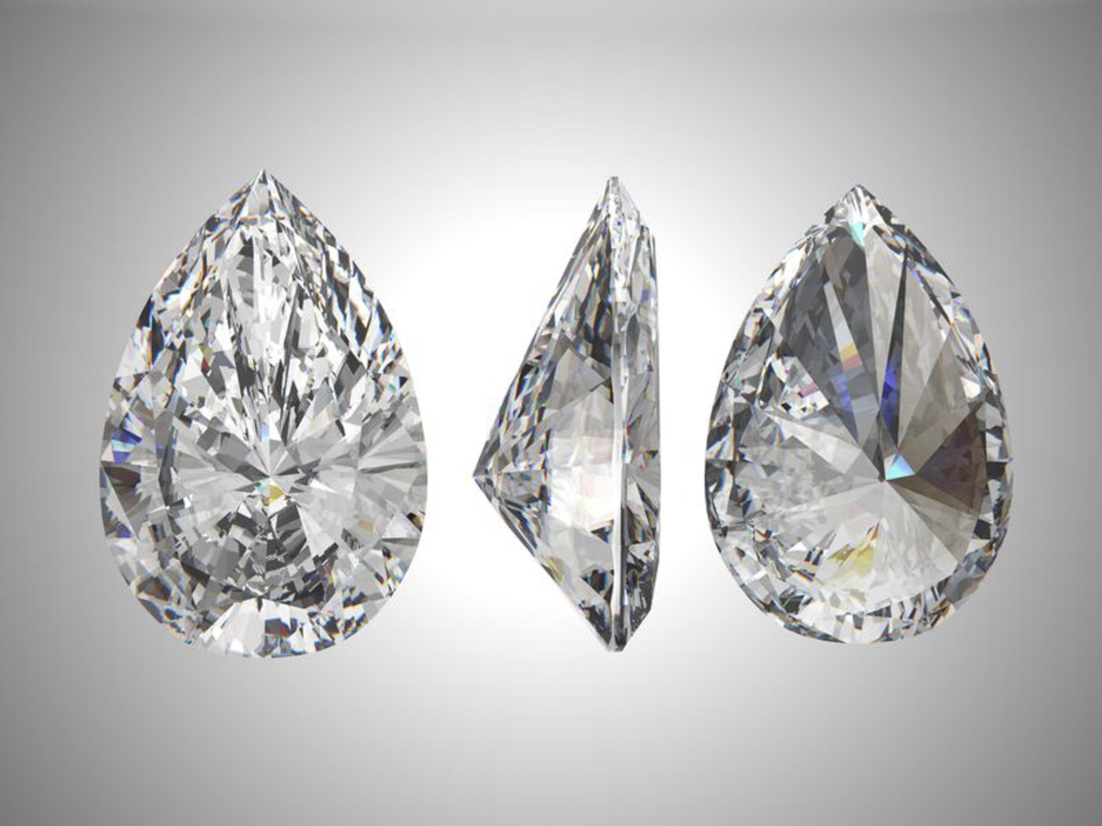 Takara lab created diamonds - worlds purest, ideal cut